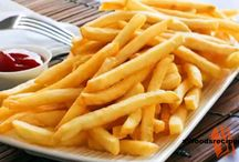 FRIES / Fries - This features all the fried foods enlisted in the categories that will make you feel hungry. Yum up your life with fried foods.