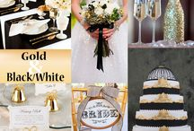 Black and White Colour Themes.. / All things black and white, wedding related..