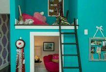 Girls room decoration