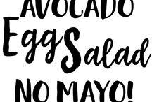 Avocado Recipies