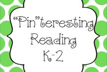 """Pin""teresting Reading K-2 / Pin your Reading K-2 pins here! / by Hanging Out In First"