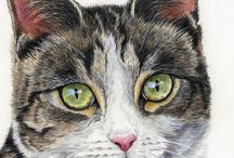 Peintre (Gayle Mason) / Chats adorables