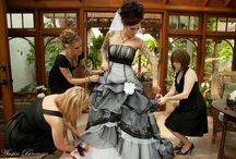 Wedding: dresses, suits and boots