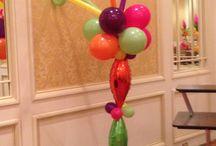 Fiesta Theme Balloons / Fiesta Bright Mexican  Balloon Party Decor