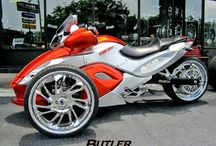 CAN AM SPYDER / by Selwyn Jones