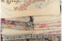 In the Vintage Linen Cupboard