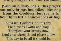 Prayers to the Goddess