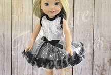Too Cute Creations- Wellie Wisher Doll Outfits