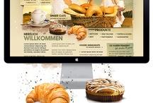 Webdesign food