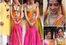 half saree's