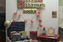Library book displays
