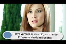 Tanya Vázquez se divorció, ¡su marido la dejó con deuda millonaria!