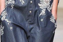 Деним джинсы