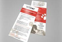 Ulotki | Foldery | Materiały drukowane / Projekty ulotek, folderów i innych materiałów drukowanych