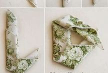Classic green and white wedding