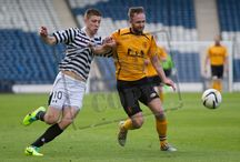 Queen's Park v Annan Athletic 11 Apr 15 / Pictures from the SPFL League Two game between Queen's Park and Annan Athletic .  Game played at Hampden Park on Saturday 11th April 2015.
