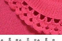 Вязание - воротнички