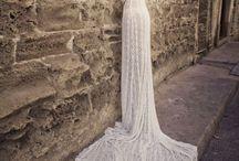 SVATEBNÍ háčkované šaty ( i jiné svatební)