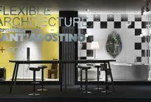 """Philippe Starck collezione FLEXIBLE ARCHITECTURE / Dall'incontro tra il genio creativo di Philippe Starck e il riconosciuto know-how tecnologico di Ceramica Sant'Agostino, è nata la collezione FLEXIBLE ARCHITECTURE: una vera """"rivoluzione"""" nel mondo della ceramica."""