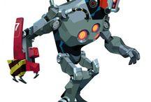 robots / Robo, cyborg, mechanical stuff