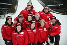 norway skijumping team
