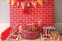 Nathaniel's Birthday Party Ideas / by Brittany Casarez