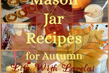 Fall ~ Food, Crafts, Gift Ideas