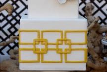 Black, Yellow, White Wedding Inspiration Board