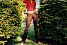 Dalida - dans son jardin
