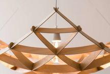 Design lamps / Thin plywood design lamps from Jaanus Orgusaar