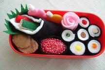 felt foods - sushi