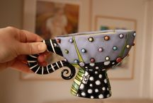 Pottery ideas / by Peggy Curcio