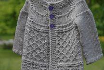 dětské pletené a šité