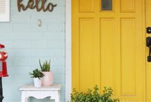 Dream In Color / Beautiful colorful homes for exterior inspiration!