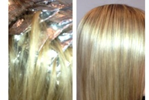 www.behnaz.com / Hairstylist - Behnaz color Before & After