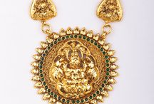 Temple Jewellery / Hand casted temple jewellery with Brass