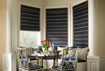 Woven Woods by Hunter Douglas / Provenance and Alustra Woven Textures create a natural look with several different woods and reeds.
