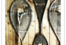 Vintage Skis, Sleds, Snowshoes / by Ann Speck