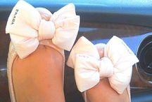 bow & lace & tule so girly / When in doubt put a bow on it!!!