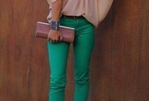 Outfit con pantalon pitillo