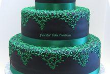 Emerald wedding theme