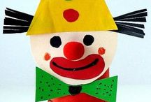klaun z papiera