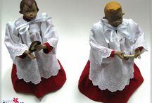 Muñecos con tela / muñecos de tela. www.manualidadespinacam.com