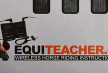 Equiteacher wireless Horse riding instruction system
