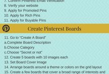 Pinterest Strategy / Using Pinterest effectively to build an audience.