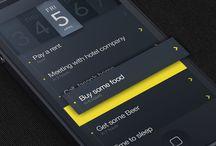 Mobile UI \\ To-do List