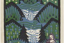 Art/Woodblocks, Linoleum Prints / by Mary Anne Wallman