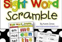 School-Sight Words / by Giz Mo