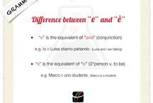 Italian Grammar Tips