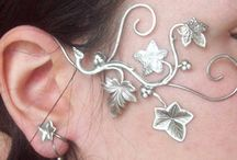 Earrings, earcuffs, studs